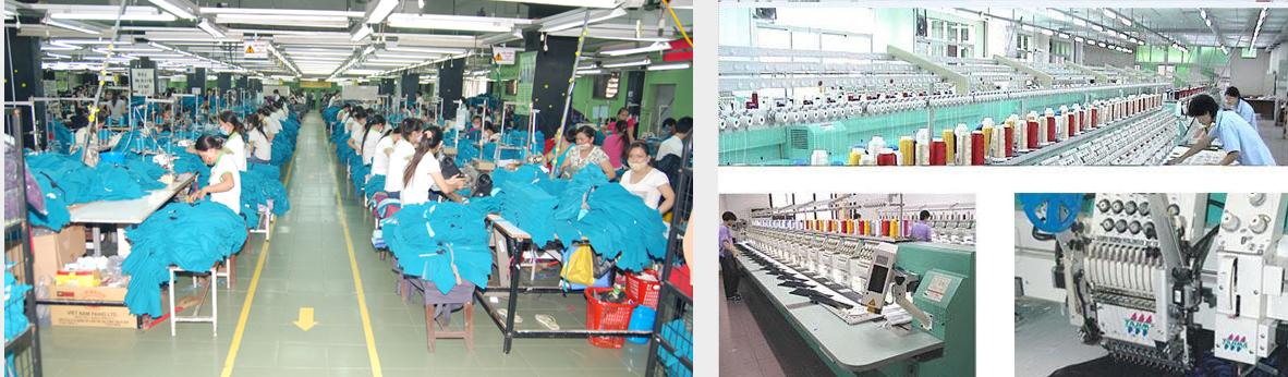 Sản xuất theo quy trình khép kín, máy móc thiết bị hiện đại